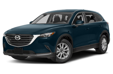side view of 2016 CX-9 Mazda