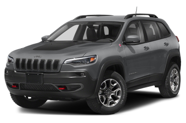 side view of 2019 Cherokee Jeep