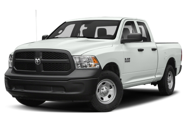 side view of 2018 1500 RAM
