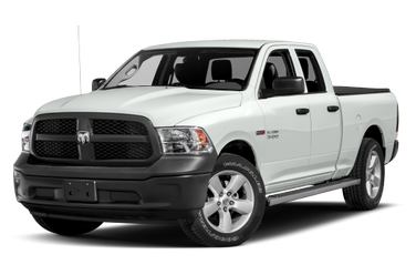 side view of 2017 1500 RAM