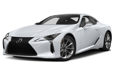 side view of 2021 LC 500h Lexus