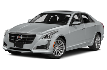 side view of 2014 CTS Cadillac