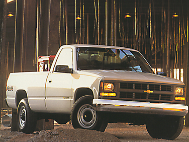 side view of 1998 3500 Chevrolet