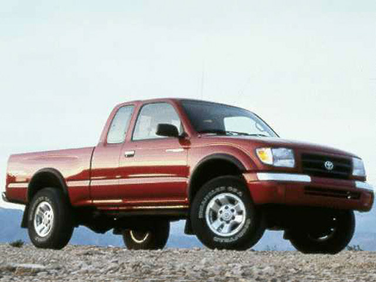 side view of 1998 Tacoma Toyota