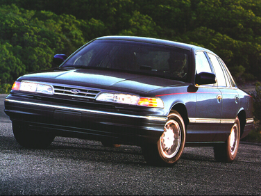 side view of 1996 Contour Ford