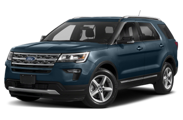 side view of 2018 Explorer Ford