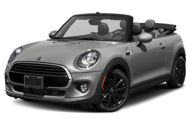 side view of 2017 Convertible MINI