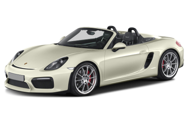 side view of 2016 Boxster Porsche