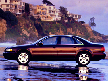 side view of 2000 A8 Audi