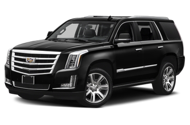 side view of 2018 Escalade Cadillac