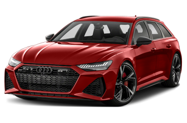 side view of 2021 RS 6 Avant Audi