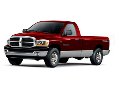 side view of 2006 Ram 2500 Dodge