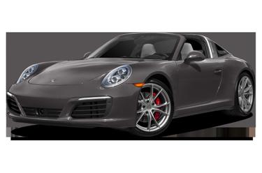 side view of 2019 911 Porsche