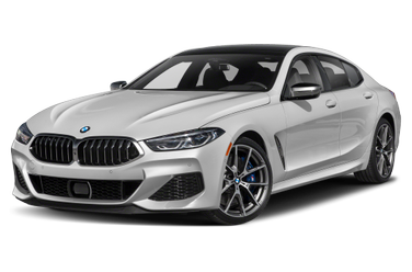 side view of 2020 M850 Gran Coupe BMW