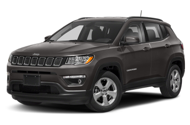 side view of 2018 Compass Jeep