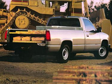 side view of 1998 Sierra 1500 GMC