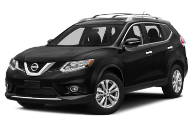 side view of 2016 Rogue Nissan
