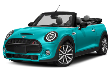 side view of 2019 Convertible MINI