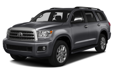 side view of 2015 Sequoia Toyota