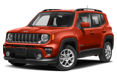 side view of 2021 Renegade Jeep