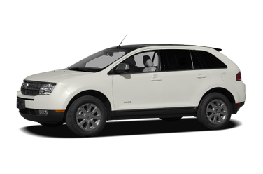 side view of 2007 MKX Lincoln