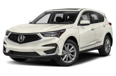 side view of 2020 RDX Acura