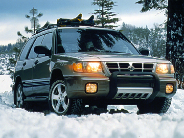 side view of 1999 Forester Subaru