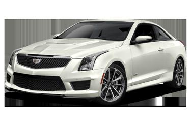 side view of 2018 ATS-V Cadillac