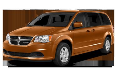 side view of 2015 Grand Caravan Dodge