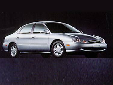 side view of 1998 Taurus Ford