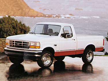 side view of 1993 F-250 Ford