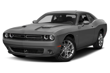 side view of 2017 Challenger Dodge