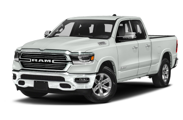 side view of 2020 1500 RAM