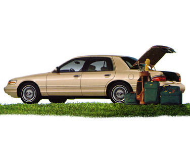side view of 1997 Grand Marquis Mercury