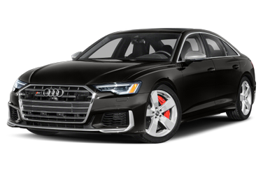 side view of 2020 S6 Audi