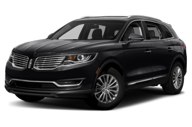 side view of 2017 MKX Lincoln