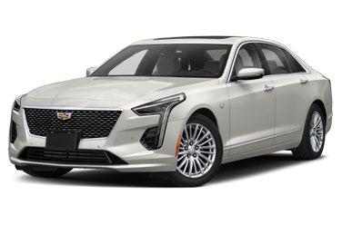 side view of 2020 CT6 Cadillac