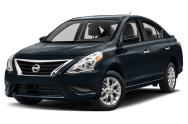 side view of 2015 Versa Nissan