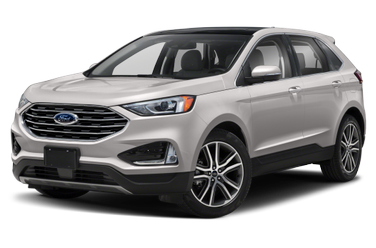side view of 2019 Edge Ford