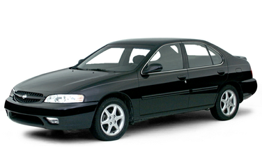 side view of 2000 Altima Nissan