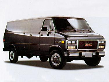 side view of 1995 Vandura GMC