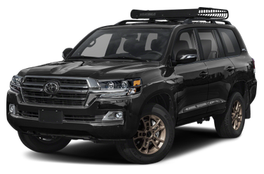 side view of 2021 Land Cruiser Toyota