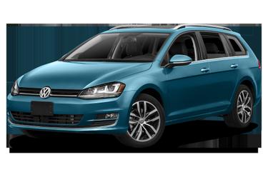 side view of 2017 Golf SportWagen Volkswagen