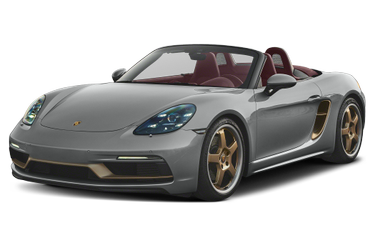 side view of 2021 718 Boxster Porsche