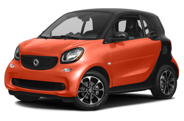 side view of 2017 ForTwo smart