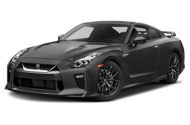 side view of 2019 GT-R Nissan
