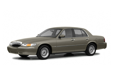 side view of 2002 Grand Marquis Mercury
