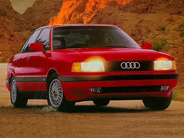 side view of 1992 80 Audi