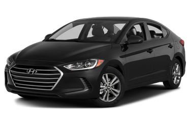 side view of 2018 Elantra Hyundai
