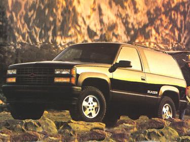 side view of 1993 Blazer Chevrolet